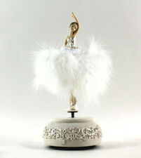 Ballerina Spieluhr Ballettkleid tanzt Tütü Ballett Rüschenkleid Blaue Donau
