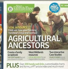 AGRICULTURAL ANCESTORS YOUR FAMILY TREE MAGAZINE  PC-CD ROM