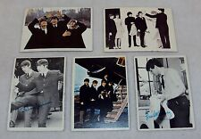 The Beatles 1960s Trading Cards ~ 5 Random Cards With Photos, Loose, No Gum