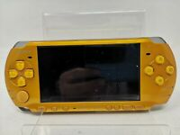 SONY PlayStation Portable Yellow PSP-3000BY Console for parts Repair  JAPAN