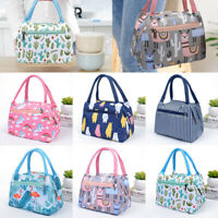 Childrens Kids Adults Lunch Bags Insulated Cool Bag Picnic Bags School Lunchbox
