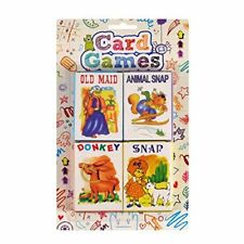 4 Packs Children's Kids Card Games Donkey Snap Party Bag!