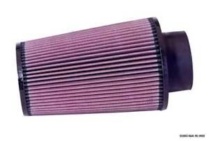"RE-0920 K&N Universal Rubber Air Filter 3-1/2""ID FLG, 6""B, 4-5/8""T, 9""H (KN Univ"