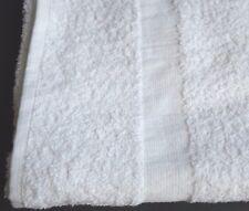 1 Dozen NEW Bath Towels 24 x 50 Cotton Blend White Soft Luxury Hotel Resort Home