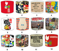 Woodstock Festival Lampshades, Ideal To Match Woodstock Wall Decals & Stickers