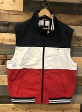 Tommy Hilfiger Color Block Logo Mens Vest Size XL $89