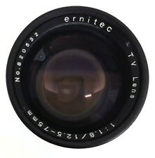 ernitec TV Zoom Lens 1.8/12.5-75mm, C mount