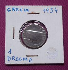 MONEDAS DEL MUNDO GRECIA 1954 1 Dracma