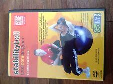 Go Fit Fitness Ball Total Core Program (Dvd + Manual 2008) Mark Verstegen