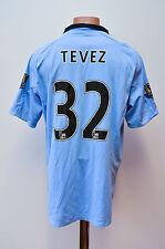 MANCHESTER CITY ENGLAND 2012/2013 HOME FOOTBALL SHIRT JERSEY UMBRO TEVEZ #32