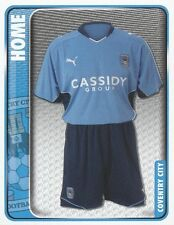 064 HOME KIT ENGLAND COVENTRY CITY.FC STICKER FL CHAMPIONSHIP 2010 PANINI