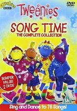 The TWEENIES Song Time Complete Collection, DVD Set, BBC, CBeebies, 76 Songs New