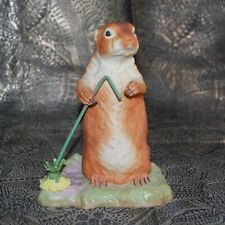 Scarce Black-Tailed Prairie Dog Figurine by Burgues from the 1970's