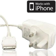 UK Mains wall Charger adapter for Apple iphone 3G 3GS 4G 4GS Ipod touch 2nd 3rd