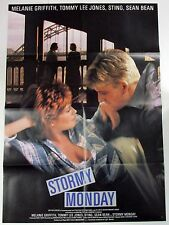 Stormy Monday - Melanie Griffith - Sting - A1 Filmposter Plakat (x-678