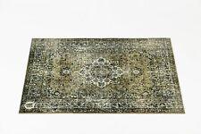 Drum N Base 1.3m X 90cm Mat in Green Vintage Persian