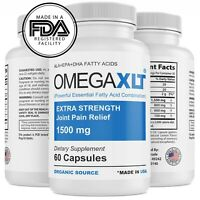 Omega XLT XTRA Strength Joint Support Omega-3 Potent Joint Pain Relief 60ct