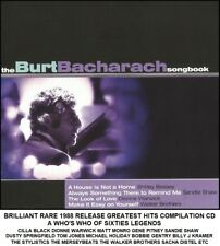 Burt Bacharach - Very Best Greatest Hits CD Cilla Black Matt Monro Gene Pitney
