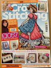 Issue 166 The World of Cross Stitching Magazine 79 Designs  BR782