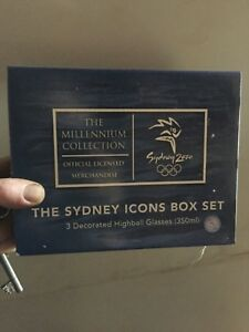 Official Olympic merchandise The Sydney milenial Icons Box Set