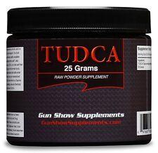 Tudca Powder (tauroursodeoxycholic acid) 25 Grams Raw