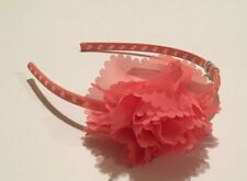 Gymboree FRIENDSHIP CAMP Coral Rosette Headband ~ NWT!