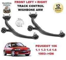POUR PEUGEOT 106 MK2 II 1993 >SUR L'AVANT GAUCHE + DROIT TRIANGLE DE SUSPENSION