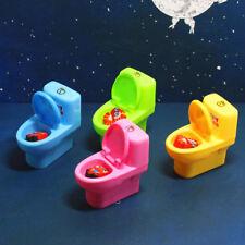 Mini Cute Toilet Pencil Sharpener School Stationery Office Kid's Favorite