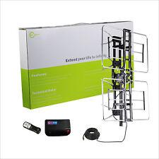 Esky HDTV Outdoor TV Antenna UHF/VHF 360 Degree Rotation 160 Miles US Version