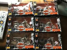 Maisto Harley Davidson 95th Anniversary Models 1:18 Series 3 , Complete Set