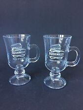 2x Bushmills Irish Coffee Glas Gläser Grog Glas Longdrink Cocktail 2er Set NEU