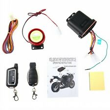 Motorcycle Motorbike Anti-theft Security Remote Vibration Sensor Alarm LS