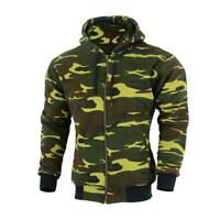 Motorcycle Motorbike mens Hoodie Hoody Full Protective Armour Lined Fleece Prote