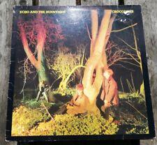 ECHO AND THE BUNNYMEN - CROCODILES LP REISSUE KOW 58 175 KOROVA  VG+!