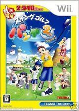 Used Wii Swing Golf Pangya 2nd Shot! Nintendo JAPAN JP JAPANESE JAPONAIS IMPORT