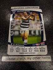 2011 AFL TEAMCOACH BASE CARD GEELONG NO.172 BRAD OTTENS