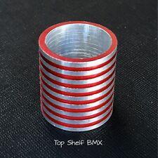 "HARO 1"" RED BMX STEM FLEX FIGHTER 22.2MM SPACER master gt performer redline boss"