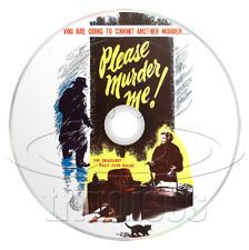 Please Murder Me! (1956) Crime, Drama, Film-Noir Movie on DVD