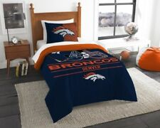 The Northwest 1NFL862000004RET NFL 862 Broncos Draft Comforter Set Twin