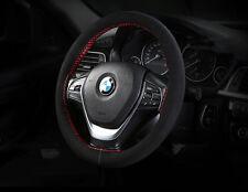 Couvre Volant Cuir Daim à Coudre - BMW Audi VW Peugeot Citroen Renault Toyota