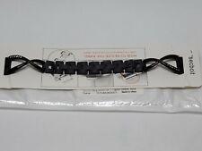 Secbolt Apple Watch Steel Band in Black, 38mm