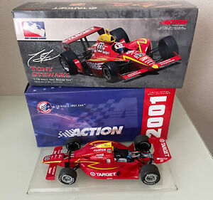 2001 Action TONY STEWART #33 Target Home Depot Indy Diecast 1/18 Scale G-Force