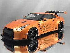 GT Spirit Nissan GT-R (R35) LB Performance Works Liberty Walk Orange 1:18