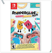 SWITCH Snipperclips Plus: Cut It Out, Together! Nintendo Puzzle Games