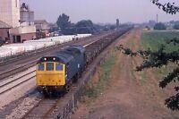 British Rail Class 25290 WETMORE - 6 x 4 Quality Photo Railway Print