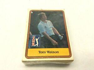 1981 Donruss PGA Tour Golf Cards Complete Set in Plastic Tom Watson Nicklaus