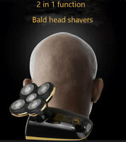 Rechargeable  5 Head Skull Head Shaver Men's Razor Cordless Hair Clipper Trimmer