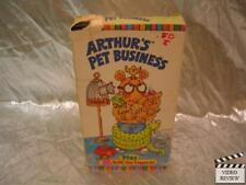 Arthur's Pet Business VHS Animated