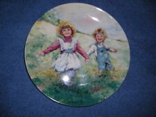 Mary Vickers Playtime Wedgwood Porcelain Collector Plate