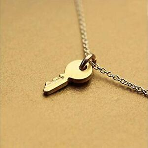 Confidence is KEY Charm Pendant Chain Necklace